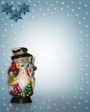 Snowman Christmas  Royalty Free Stock Photo
