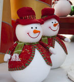 Snowman Christmas decoration Stock Photos