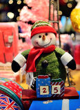 Snowman Christmas decoration. Colourful of Snowman Christmas decoration royalty free stock photography