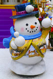 Snowman christmas decoration Royalty Free Stock Photography