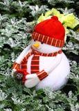 Snowman christmas decoration Stock Photo