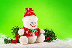 Snowman for Christmas Royalty Free Stock Photography