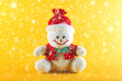 Snowman for Christmas Royalty Free Stock Images