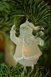 Snowman Christmas ornament Stock Photo
