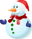 Snowman, Christmas, Snow, Cold Stock Photo