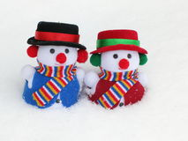 Snowman - Christmas Stock Photo Royalty Free Stock Images
