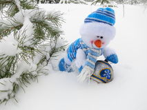 Snowman  - Christmas Stock Photos Stock Image