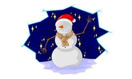 Snowman royalty free illustration