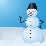 Snowman. Stock Photography