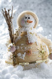 Snowman decoration Royalty Free Stock Images