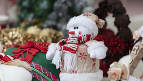 Snowman decoration for Christmas Royalty Free Stock Photography