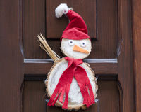 Snowman decoration for Christmas Stock Image