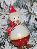Snowman decoration Stock Photos