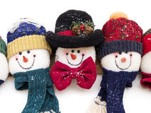 Snowman Decoration Stock Photography