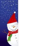 Snowman design Stock Image