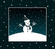 Snowman design Stock Images