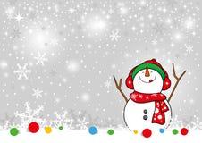 Snowman design Royalty Free Stock Photos