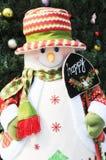 The snowman doll Stock Photo
