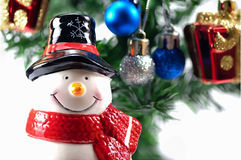 Snowman doll Stock Images