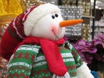 Snowman Doll Christmas ornament. Snowman Santa Claus doll christmas ornament Stock Images