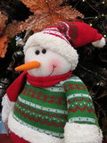 Snowman Doll Christmas ornament. Snowman Santa Claus doll christmas ornament Royalty Free Stock Photo