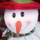 Snowman doll Stock Photography