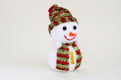 Snowman doll Stock Photo