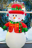 Snowman dolls. The Snowman doll for christmas Royalty Free Stock Image