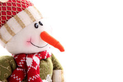 Snowman face Stock Image