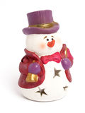 Snowman figure Royalty Free Stock Image