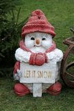 Snowman Figure. Stock Photos