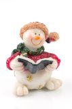 Snowman figures Royalty Free Stock Images