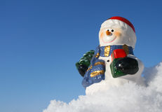 Snowman figurine Royalty Free Stock Photos