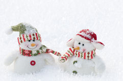 Free Snowman Friends Royalty Free Stock Images - 7602079