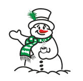 Snowman Royalty Free Stock Images