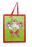 Snowman Gift Bag Royalty Free Stock Photo
