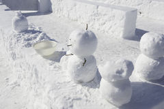 Snowman Stock Photography