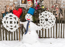 The snowman Royalty Free Stock Photo