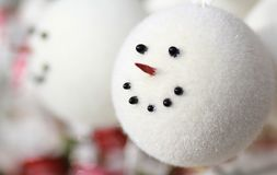 Snowman Head Stock Images