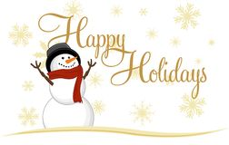 Snowman Icon Stock Photography