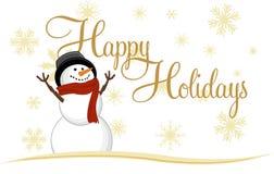 Snowman Icon Stock Photography