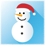 Snowman Icon Represents Merry Xmas And Celebration vector illustration