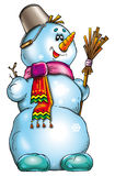 Snowman illustration Stock Photos