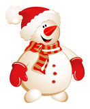 Snowman - Illustration Royalty Free Stock Photography