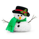 Snowman isolated Stock Images