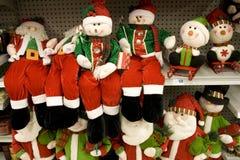 Snowman kids Stock Photos