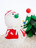 Snowman model. Royalty Free Stock Images