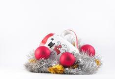 Snowman Mug Royalty Free Stock Photos