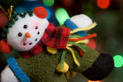 Snowman Ornament Royalty Free Stock Photo