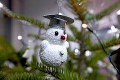 Snowman ornament Royalty Free Stock Photos